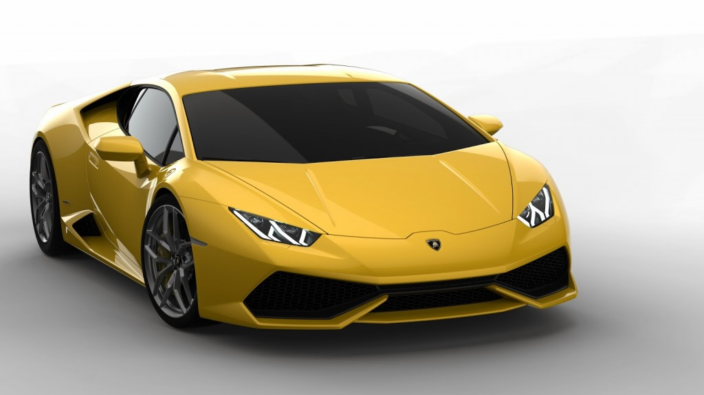 Yellow Huracan