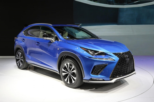 Facelifted Lexus NX gets Shanghai motor show debut